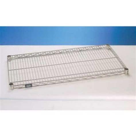 nexel silver epoxy 14x30 standard wire shelf s1430ep