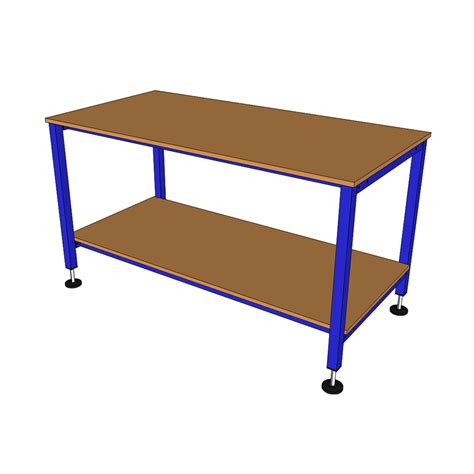 bench tables 1800lx750w model b packing table packing tables by