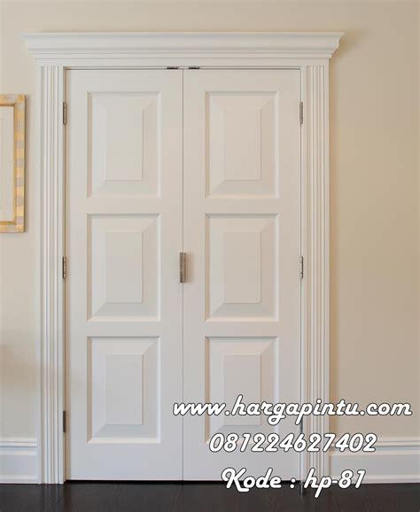 Set 2in1 Kemeja Putih Kotak Anak pintu kamar warna putih 3 panel kotak bevel harga pintu harga pintu
