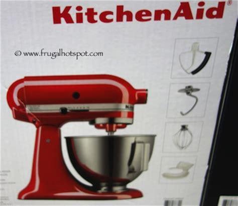 Kitchen Aid Costco by Costco Sale Kitchenaid 4 5 Qt Tilt Stand Mixer 199