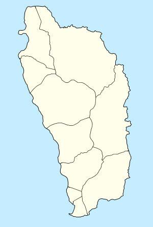 dominica map dominica