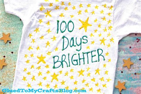 days brighter  shirt craft idea glued   crafts