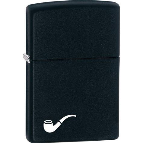 Zippo 218pl Black Matte Pipe Original Made In Usa zippo 218pl pipe black matte lighter