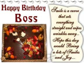 birthday wishes for boss quotes quotesgram