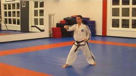 pattern chon ji youtube video chon ji performed by joel denis taekwondo wiki