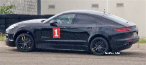 Spyshots porsche cayenne coupe spotted testing paul tan image 531871