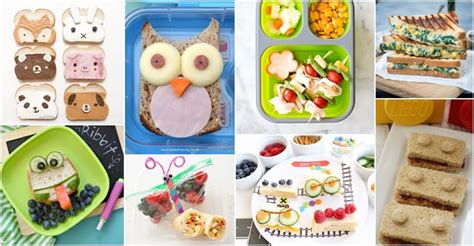 kids lunch decoration image 10 easy back to school lunch sandwich ideas for