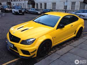 mercedes c 63 amg coupe black series