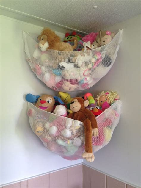 Small Room Bed Ideas by 26 Comfy Stuffed Toys Storage Ideas Shelterness