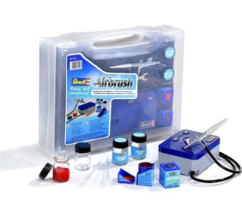 Kompressor Lackieren Test by Revell Airbrush Basic Set Mit Kompressor Test