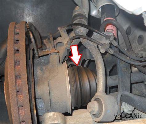 broken cv axle wont go data set