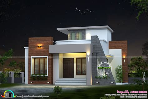 home design small budget 22 lakhs cost estimated house plan maison simple de