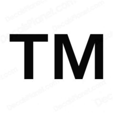 trade symbol registered trademark symbol