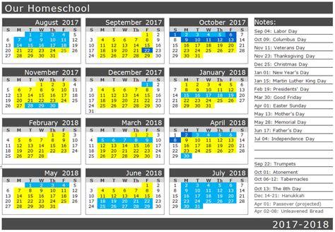 Biblical Calendar Planning The School Year Biblical Homeschooling