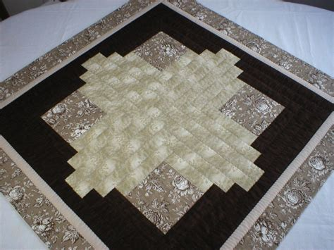 patchwork square table topper