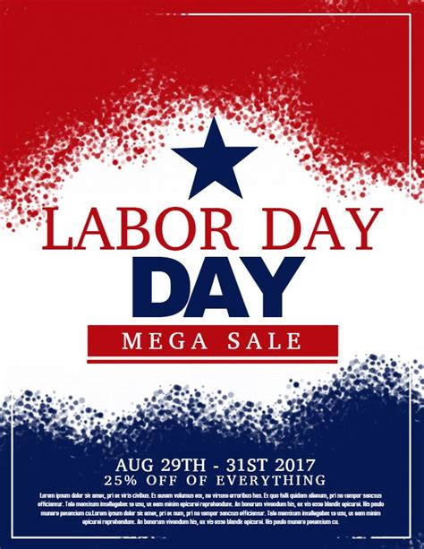 day poster template 22 best labor day posters images on