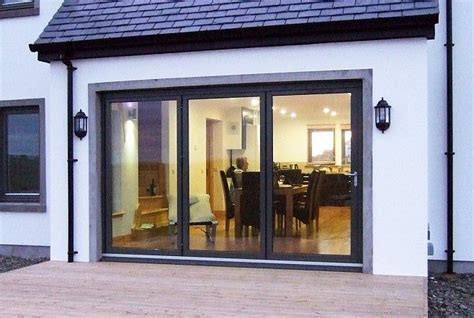 Bi Folding Doors Exterior Bifold Exterior Doors Bi Fold Doors Using The Sfk82 Aluminium And Timber Folding Door System