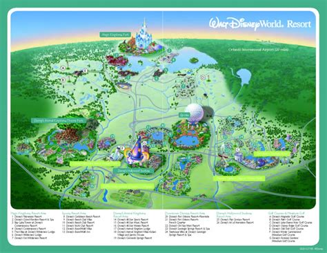 disney world orlando map with hotels disney resources archives 2019 tpe community