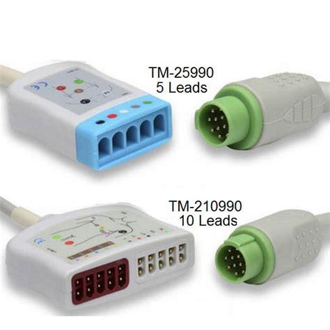 Fukuda Denshi 10 Lead Ekg Trunk Cable 16m Vs 10l Yoke 10kohm 2 2m Iec Fukuda Denshi Trunk Cable