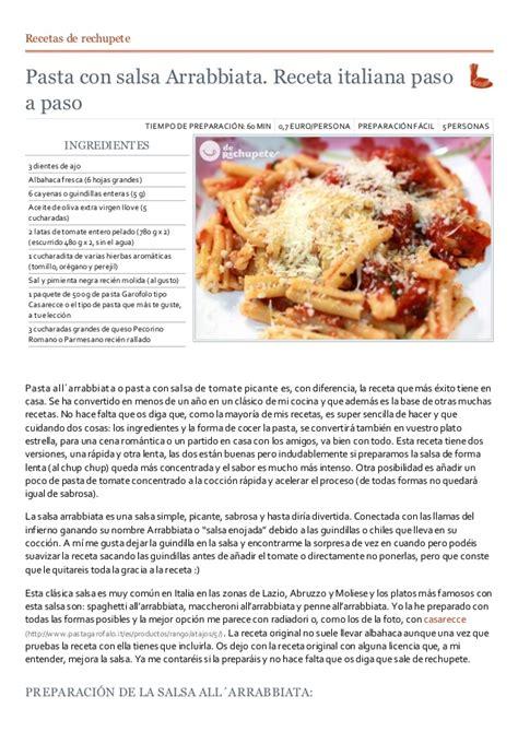 recetas de cocina pastas faciles recetas cocina italiana