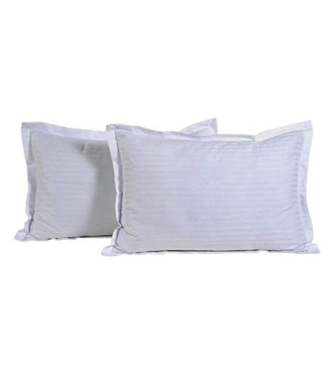 White Pillow Cover by Trance White Cotton Pillow Covers 2 Pcs Buy Trance