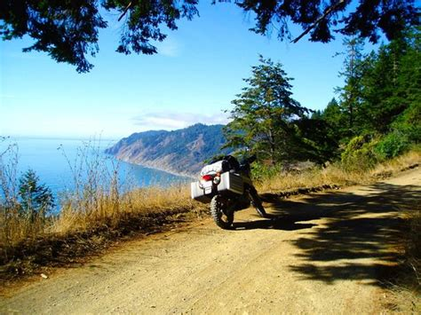 usal road map ca the lost coast highway cliff hugging from ferndale to