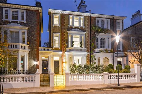 Modern Homes For Sale by The Top 10 Grandest London Terraced Houses Around Right