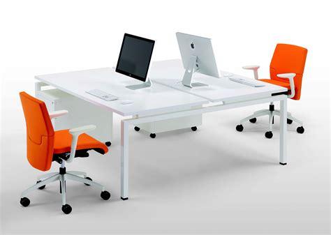 scrivania doppia scrivania a due postazioni clip doppia galimberti sedie