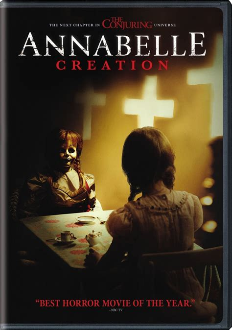 annabelle doll dvd annabelle creation dvd release date october 24 2017
