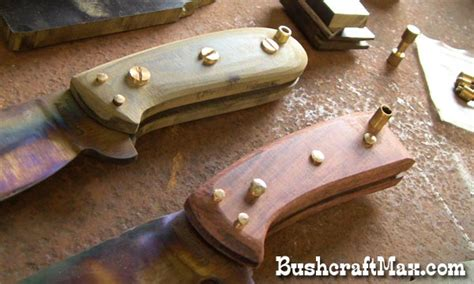 how to make a knife at home how to make handmade bushcraft knives