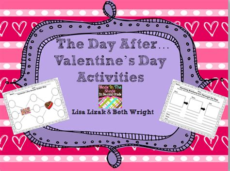 day after valentines classroom freebies the day after s day