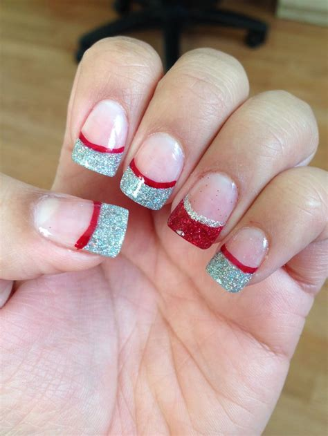 2018 christmas nails theme acrylic nail ideas 4th of july 2018