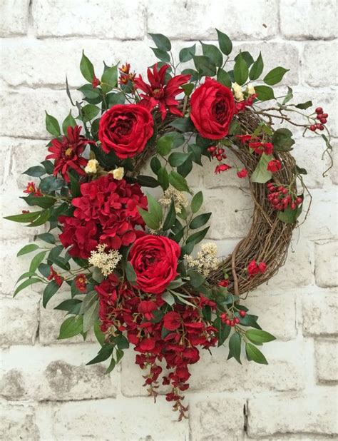 wreath for front door 17 best ideas about summer wreath on wreath