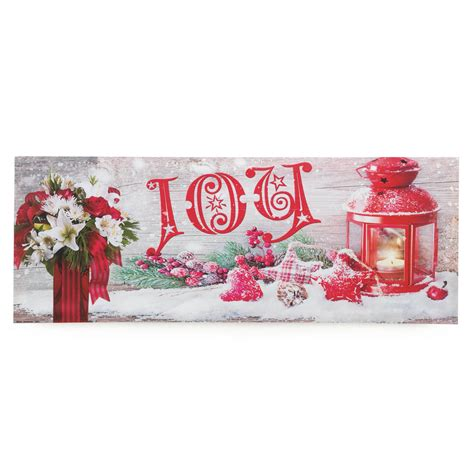 wholesale christmas home decor joy led wall art wholesale at koehler home decor