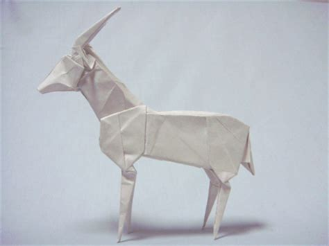 How To Make A Paper Goat - goat