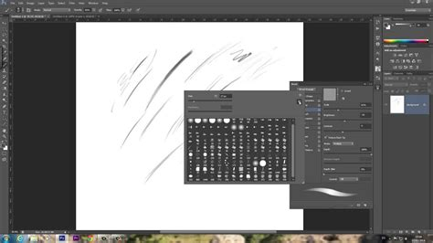tutorial photoshop brush how to make a basic sketch pencil brush in adobe photoshop