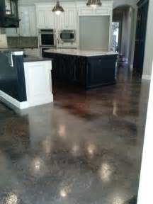 Concrete Kitchen Floor Concrete Staining Traditional Kitchen Jacksonville By N Fl Concrete Flooring Staining Inc