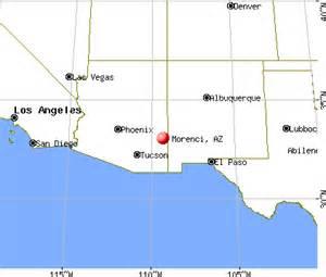 morenci arizona map morenci arizona az 85540 profile population maps