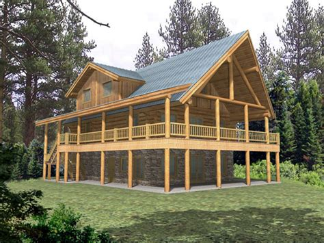 elevated house plans with porches rustic house plan with wrap around porch rustic house plans with open concept