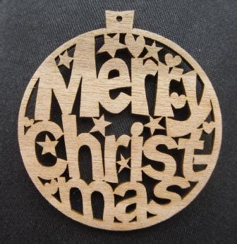Laser Decorations - laser cut tree decoration kayland