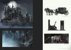 libro bloodborne official artworks bloodborne concept art winter lantern crawler tombstone sw concept art