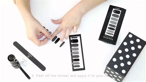 How To Apply Nail Stickers