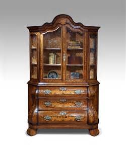 Vintage Display Cabinet Antique Display Cabinet Marquetry Cabinet