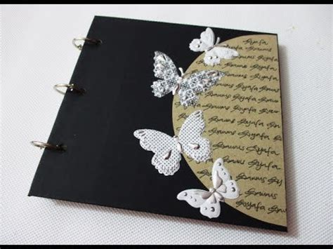 diy  vintage notebook easy beautiful youtube