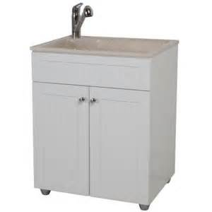 laundry sink and cabinet glacier bay all in one 27 in colorpoint premium laundry