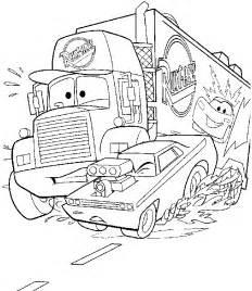 tegneark tegninger fargelegg kjente disney figurer disney cars bilder