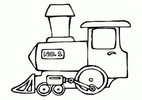 mewarnai gambar lokomotif kereta api contoh anak paud
