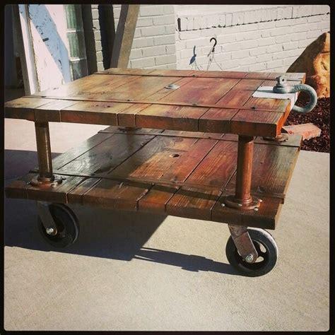Warehouse Cart Coffee Table Neiltortorella Com Warehouse Cart Coffee Table