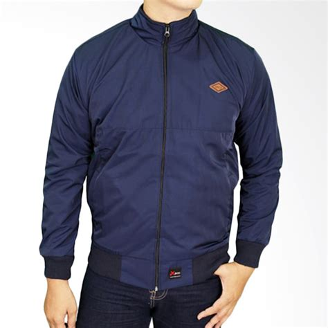 jual gudang fashion jak 2206 parasut jaket pria navy harga kualitas terjamin