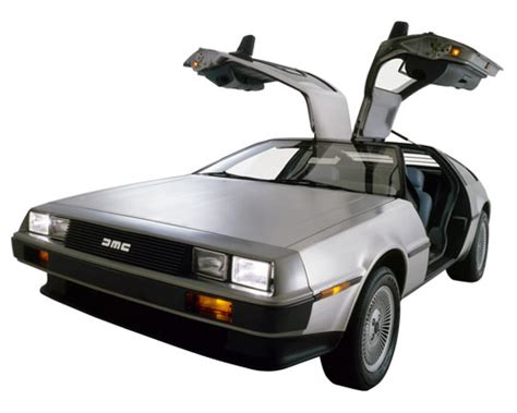 what year is the delorean from back to the future back to the future the delorean